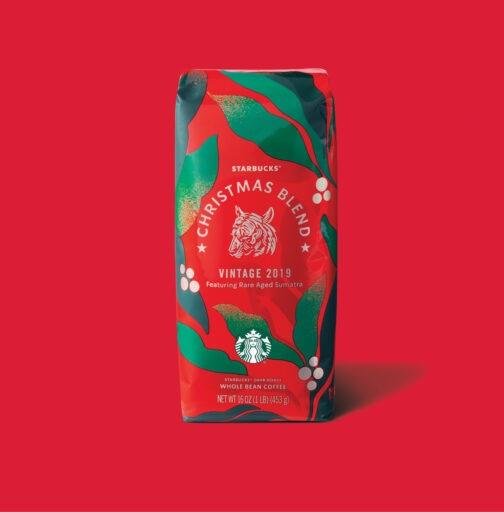 دانه قهوه کریسمس بلند استارباکس (ترکیب ویژه کریسمس) 2019 StarBucks Christmas Blend coffee