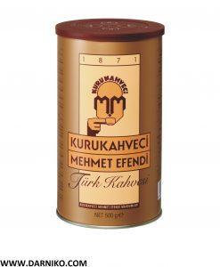 پودر قهوه ترک مهمت افندی ترکیه 500 گرم