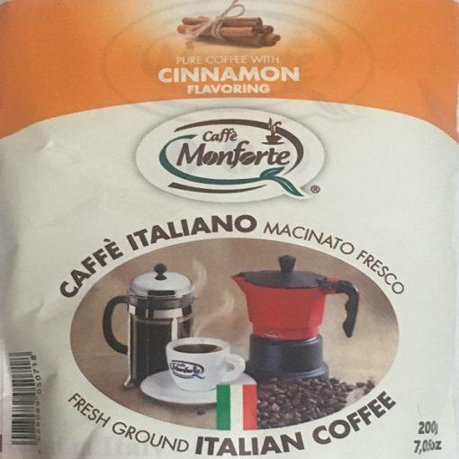 پودر قهوه دارچینی مونفورتهCafe MonForte Cinnamon Flovoring