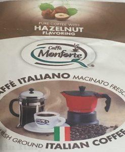 پودر قهوه فندقی مونفورتهCafe MonForte VanilaHazlelnut