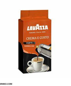 پودر قهوه لاوازا کرما گوستو فورته LavazzaCrema e Gusto Forte
