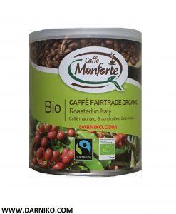 قهوه بایو اورگانیک مونفورته پودری 125 گرمی