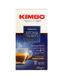 پودر قهوه آروما ایتالیانو کیمبو مدل آبی Kimbo Aroma Italiano Coffee