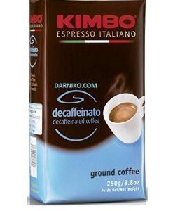 پودر قهوه دی کف ( بدون کافئین) اسپرسو کیمبو