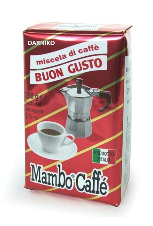 پودر قهوه بون گوستو مامبو Caffe Mambo BUON GUSTO