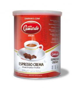 پودر قهوه اسپرسو کرما کاماردوCamardo Espresso Crema
