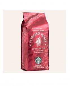 دانه قهوه اسپرسو روست کریسمس بلند استارباکس