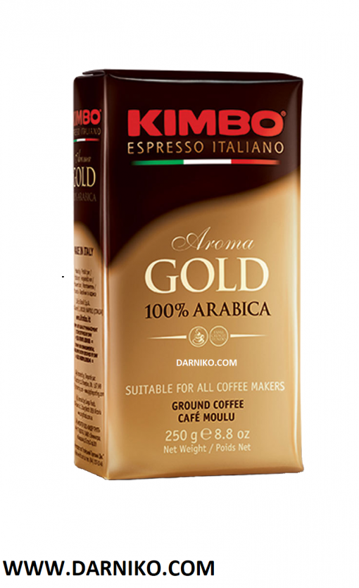 پودر قهوه عربیکا اسپرسو گلد کیمبو