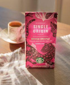 دانه قهوه سینگل اورجین مکزیکو چیاپاس استارباکس