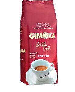 دانه قهوه جیموکا گران بار 1 کیلو گرمی GIMOKA Gran Bar