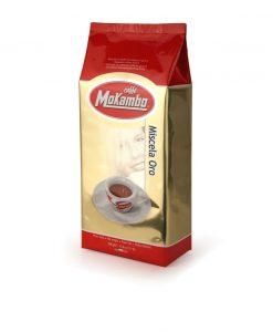 دانه قهوه موکامبو اورو 500 گرمی Caffe Mokambo Oro
