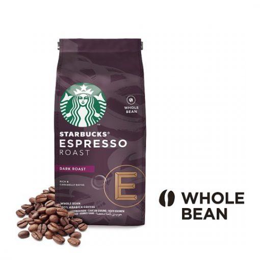 دانه قهوه اسپرسو روست دارک استارباکس Starbucks Espresso Coffee Beans