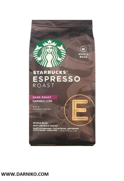 دانه قهوه اسپرسو روست دارک استارباکس