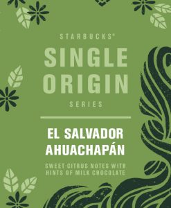 StarBucks Single Origin