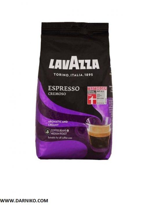 دانه قهوه لاوازا اسپرسو کرموسو Lavazza Espresso Cremoso 1Kg