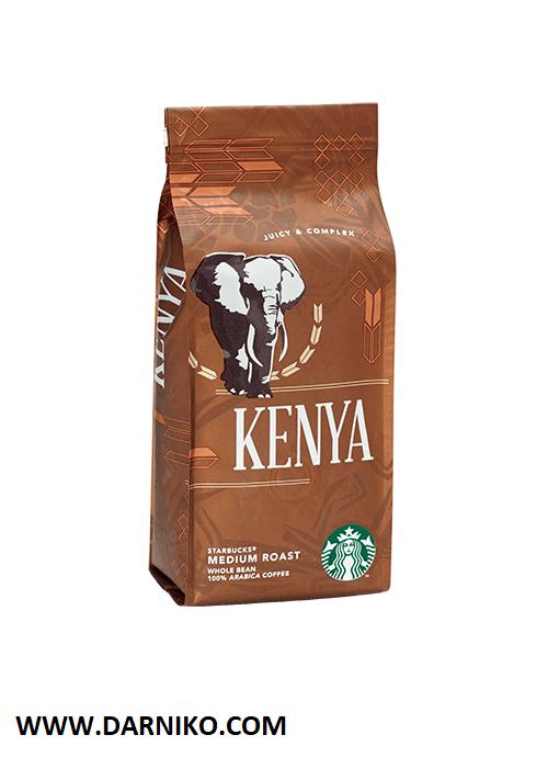 دانه قهوه کنیا استارباکس مدیوم روست STARBUKS KENYA Medium Roast