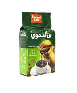 قهوه عربی همراه با هلکلاسیکبن الحموی