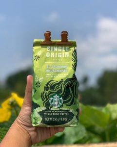 دانه قهوه السالوادور سینگل اورجین استارباکس آهواچاپان StarBucksSingle Origin Series - El Salvador Ahuachapán