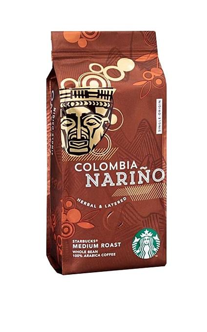 دانه قهوه کلمبیا نارینو استارباکسStarBucks Colombia Nariño