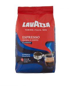 دانه قهوه لاوازا اسپرسو کرما گوستو کلاسیکو LavazzaCrema e Gusto Espresso