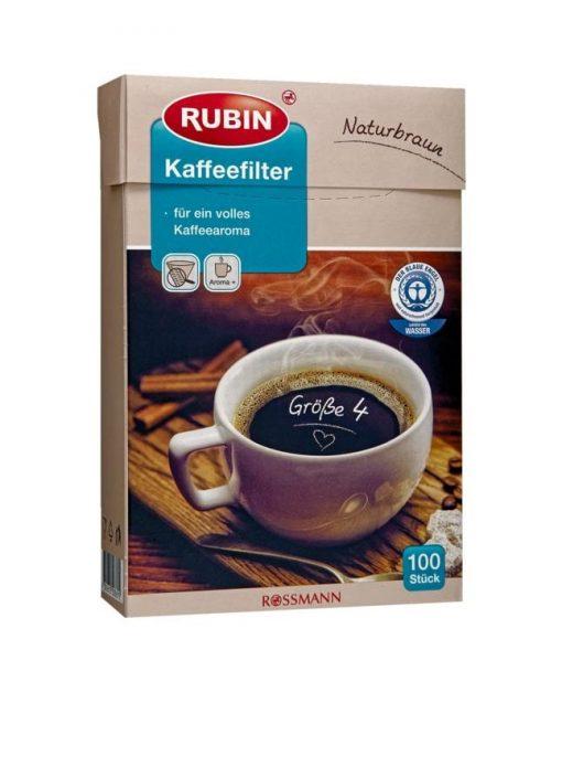 فیلتر قهوه ساز فرانسه کاغذی سایز 4 RUBIN