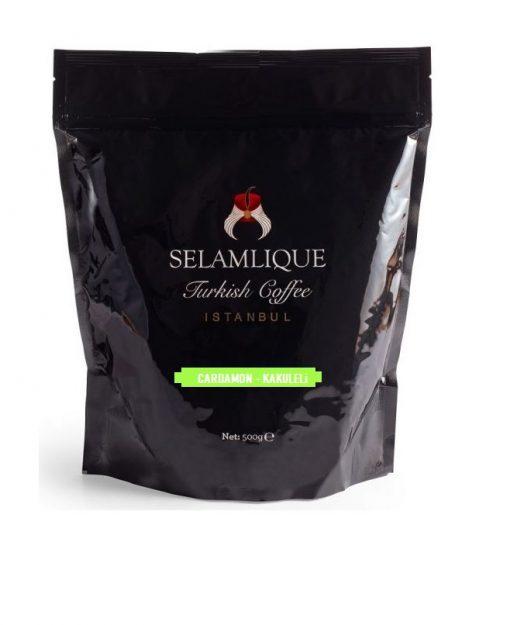 قهوه ترک با طعم هل سلام علیک 500 گرمی SELAMLIQUE