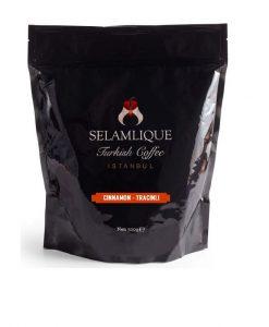پودر قهوه ترک دارچینی سلام علیک SELAMLIQUE Turkish Coffee CINNAMON