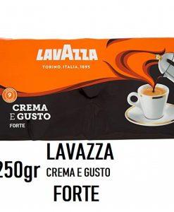 پودر قهوه لاواتزا فورته کرما گوستو LavazzaCrema e Gusto Forte