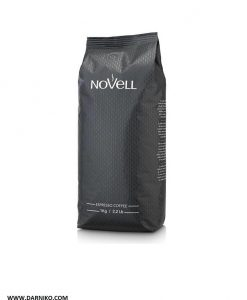 دان قهوه اسپرسو دارک نوول کافی NoVeLL Coffee  ESPERSSO CAFE BLACK LABEL Coffee Beans 1KG
