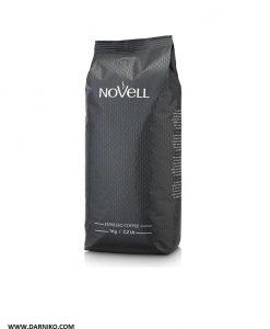 دان قهوه اسپرسو دارک نوول کافی NoVeLL Coffee ESPERSSO CAFE BLACK LABEL Coffee Beans 1KG
