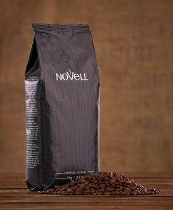 دان قهوه اسپرسو دارک نوول کافی NoVeLL Coffee ESPERSSO CAFE BLACK LABEL Coffee Beans