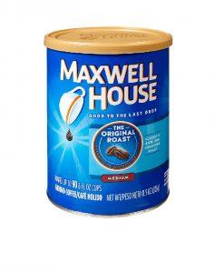 پودر قهوه مکس ول هوس اورجینال روست 326 گرم Maxwell House Orginal Roast