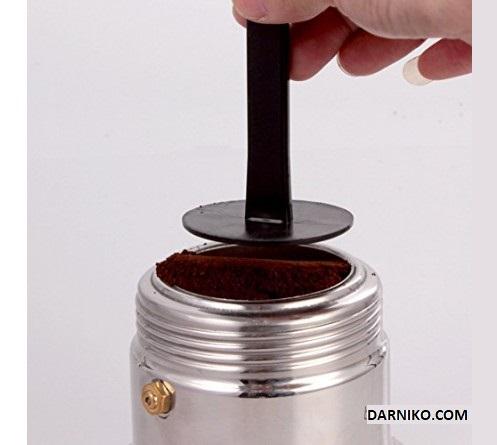 تمپر و پیمانه قهوه پلاستیکی موکاپات