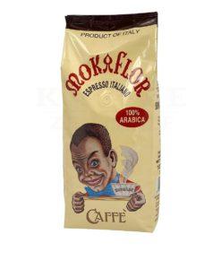 دانه قهوه اسپرسو ایتالیانو موکافلور 100% عربیکا MOKAFLOR ESPRESSO ITALIANO