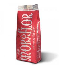 دانه قهوه روسا قرمز موکافلور 60% عربیکاMOKAFLOR Rossa