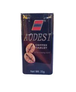 قرص قهوه کافئین دار و خوشبو کننده دهان AODESI اودسی