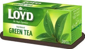 چای سبز کیسه ای لوید loyd green tea
