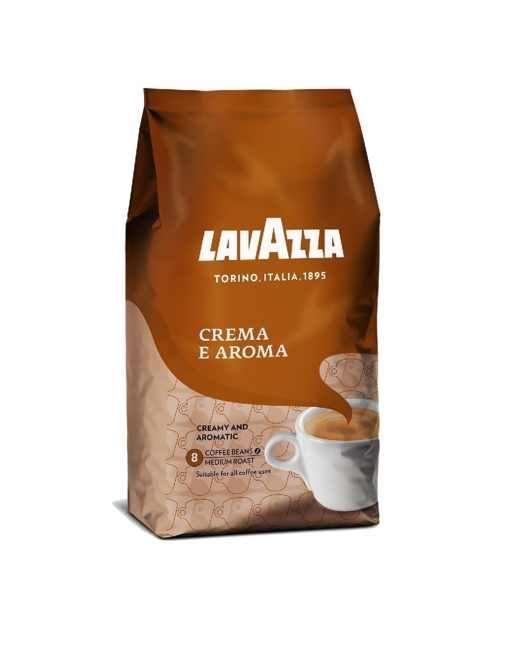 دانه قهوه کرما آروما لاوازاLAVAZZA CREAMA E AROMA