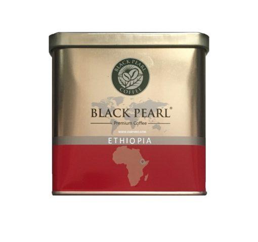 پودر قهوه عربیکا اتیوپی بلک پرل فیلتر کافی BALCK PEARL ETHIOPIA Filter Coffee