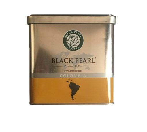 پودر قهوه عربیکا کلمبیا بلک پرل فیلتر کافی BALCK PEARL COLOMBIA Filter Coffee