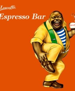 دانه قهوه اسپرسو بار لوکافه 1 کیلوگرمی Lucaffe EspressoBar