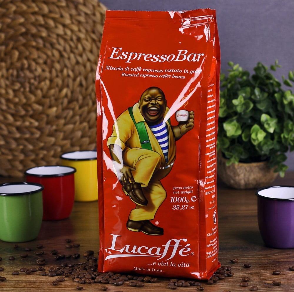 دانه قهوه اسپرسو بار لوکافه Lucaffe EspressoBar
