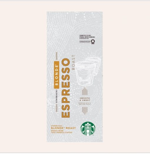دانه قهوه لایت روست استارباکس StarbucksBLOND Espresso Roast اسپرسو بلوند