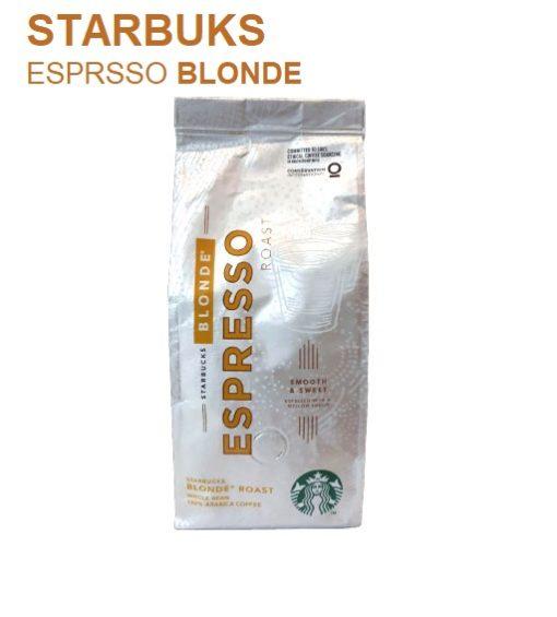 دانه قهوه لایت روست استارباکس StarbucksBLOND Espresso Roast اسپرسو بلوند250