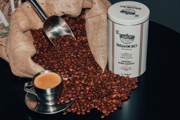 پودر قهوه عثمانی ابراهیم بیiBRAHiM BEY OTTOMA DIBEK COFFEE قهوه ترک