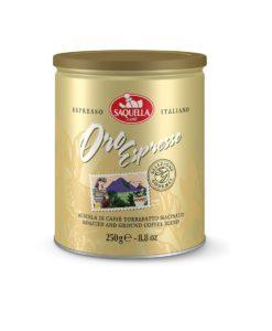 پودر قهوه اورو اسپرسو (اسپرسو طلایی) ساکوئلا SAQUELLA Oro Esprsso