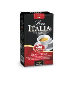 پودر قهوه ساکوئلا گران کرما اسپرسو SAQUELLA Bar Italia Gran Crema