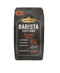 دانه قهوه جاکوبز کرما اینتنسه باریستا ادیشن JACOBS BARISTA EDITIONS CREMA INTENSE coffee