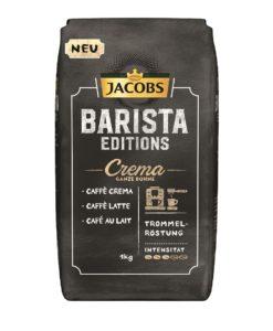 دانه قهوه جاکوبز کرما باریستا ادیشن 1 کیلو گرمی JACOBS BARISTA EDITIONS CREMA COFFEE 1kg