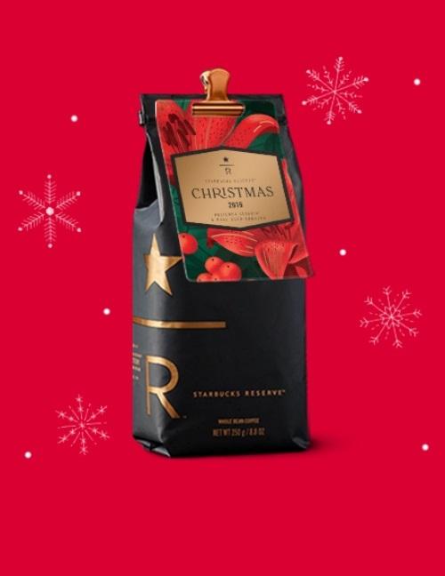 دانه قهوه کریستمس 2019 استارباکس رزرو Starbucks Reserve® Christmas coffee